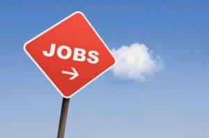 job-skilt